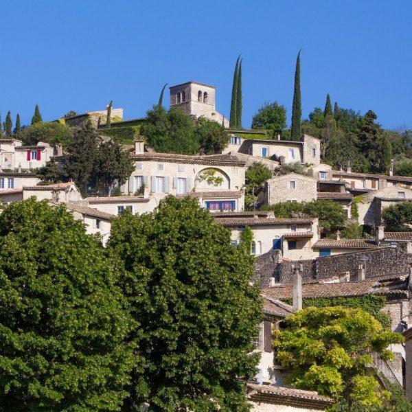 Mirmande village classé plus beau village de France