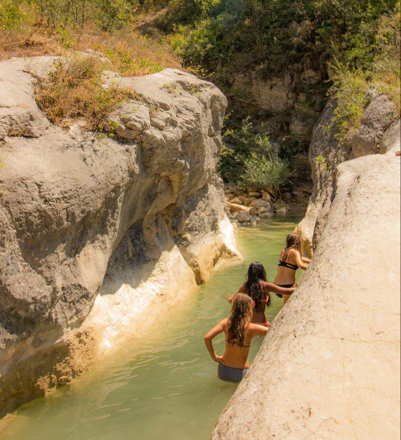 Baden Sie in unseren natürlichen Schwimmbecken